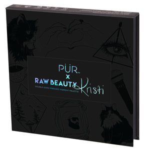 FINAL RESTOCK: PÜR X RawBeautyKristi Double-sided Pressed Pigment Palette