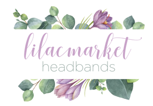Lilac Market Headbands