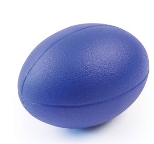 COATED FOAM RUGBY BALL