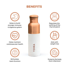 Load image into Gallery viewer, Copper Water Bottle (1 Litre)