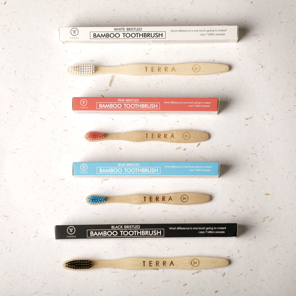 Bamboo Toothbrush Family Pack
