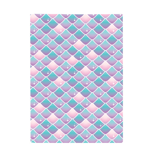 Book Cover A4 - Mermaid Off Duty Mermaid Scales