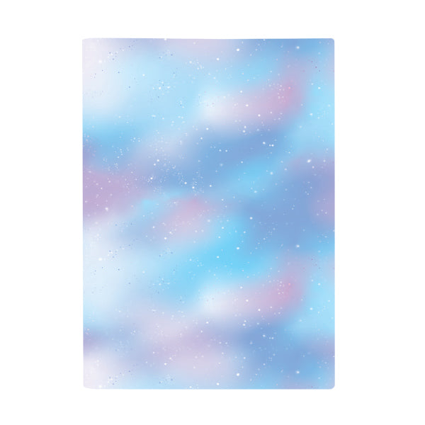 Book Cover A4 - Pastel Galaxy Sky