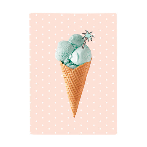 Scrap Book Cover - Ice Cream Love
