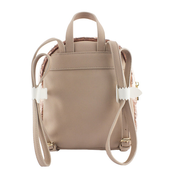 Harper Bee Backpack - Sequin Rose Gold