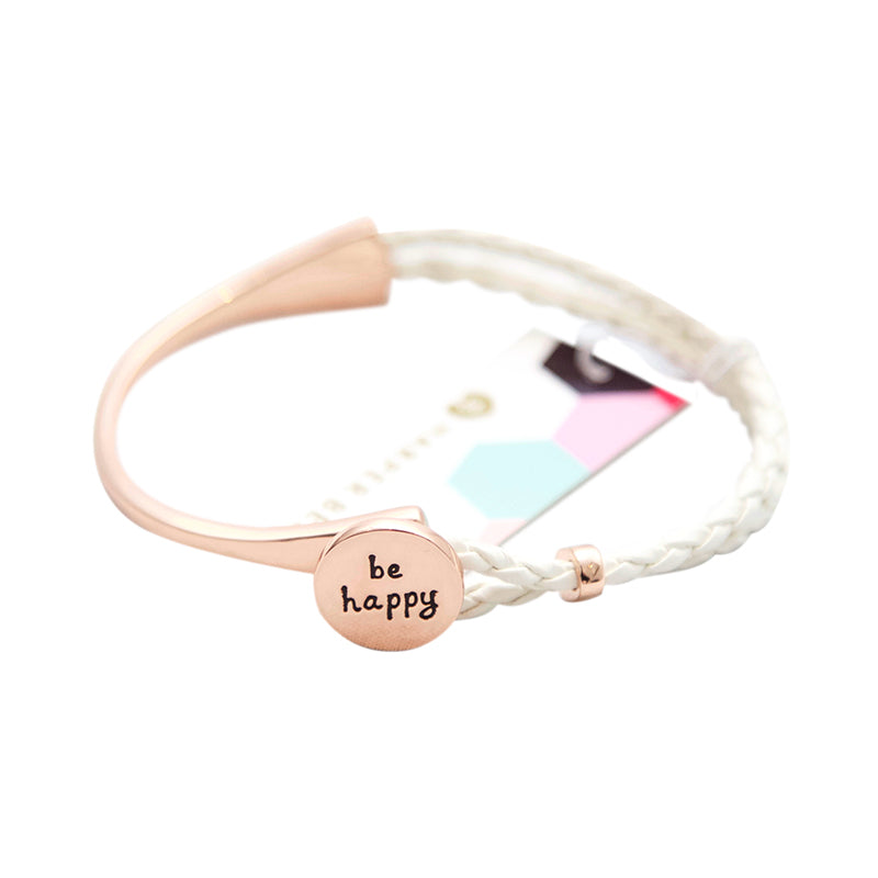 Harper Bee Bangle - Be Happy