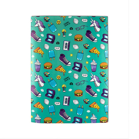 Harper Bee Book Cover A4 - Beastie Raindrops