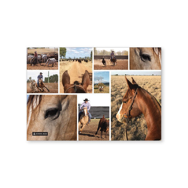 Exercise Book Cover  - Country Horse