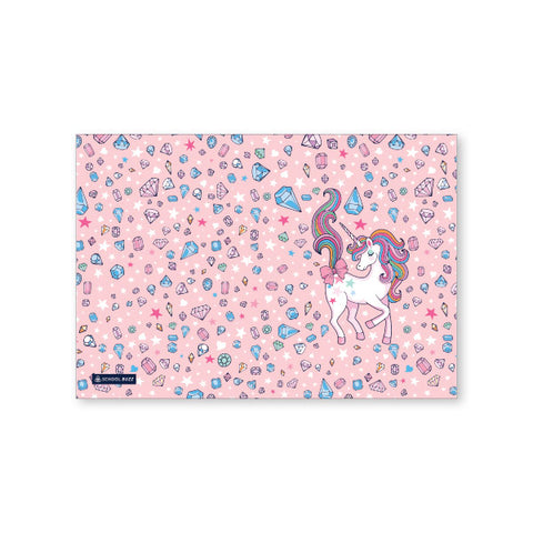 Book Cover A4 - Diamond Unicorn