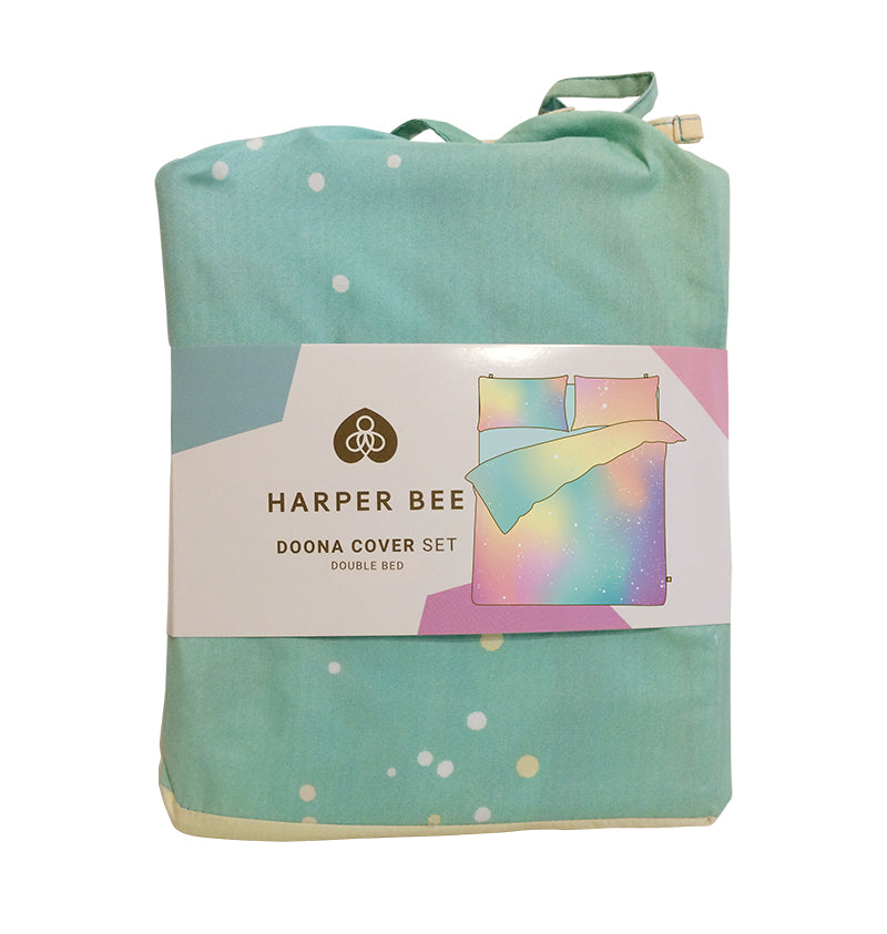 Harper Bee Doona Cover Double - Pastel Galaxy