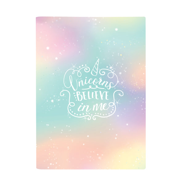Exercise Book Cover - Pastel Galaxy Tutti Frutti
