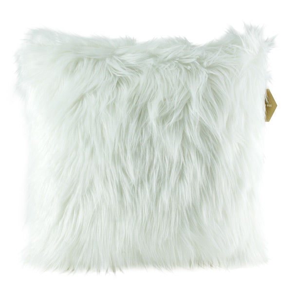 Harper Bee Cushion - Fluffy White