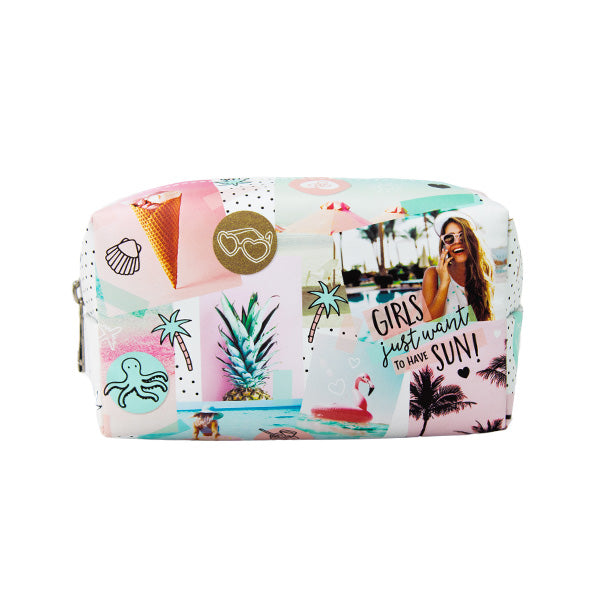 Harper Bee Fashion Pencil Case - Tropical Holiday