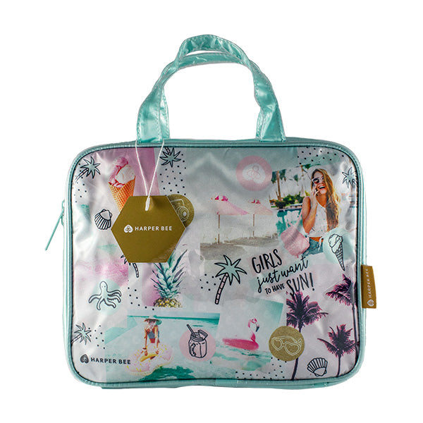 Harper Bee Toiletry Bag - Tropical Holiday