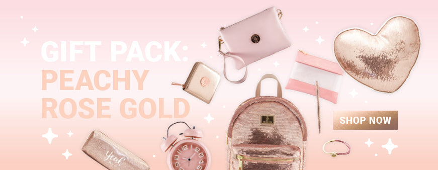Gift Bundle - Peachy Rose Gold