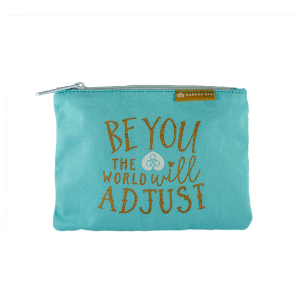 Harper Bee Pouch - Quotes