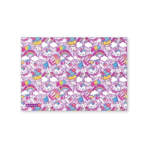 Exercise Book Cover  - Kitty Cupcake