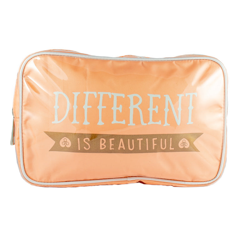 Harper Bee Make Up Bag - Quotes