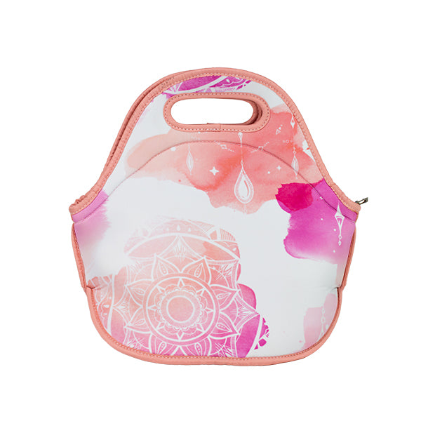 Harper Bee Neoprene Lunch Bag - Boho Waterocolour