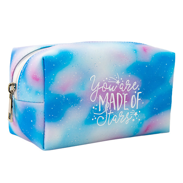 Harper Bee Fashion Pencil Case - Pastel Galaxy Sky