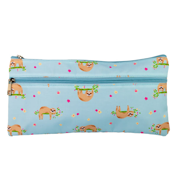 2 Zip Pencil Cases - Hanging Out