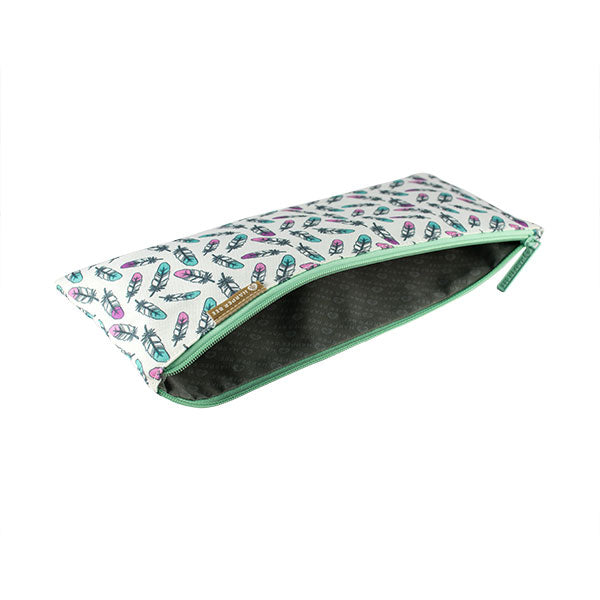 Harper Bee Pencil Case School - Feathers