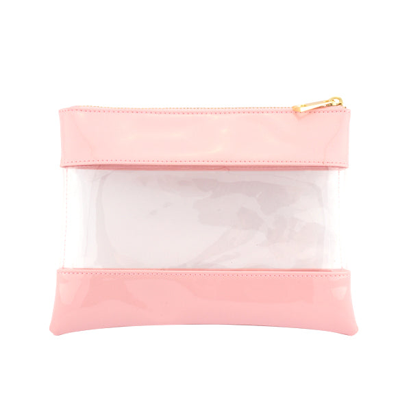 Harper Bee Pencil Pouch - Candy Floss See-Through Middle