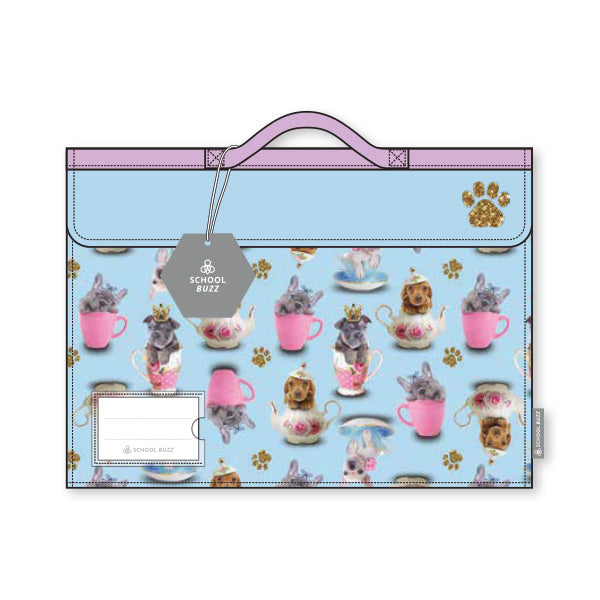Library Bag - Teacup Dogs
