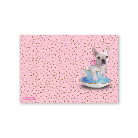 Exercise Book Cover  - Teacup Dogs