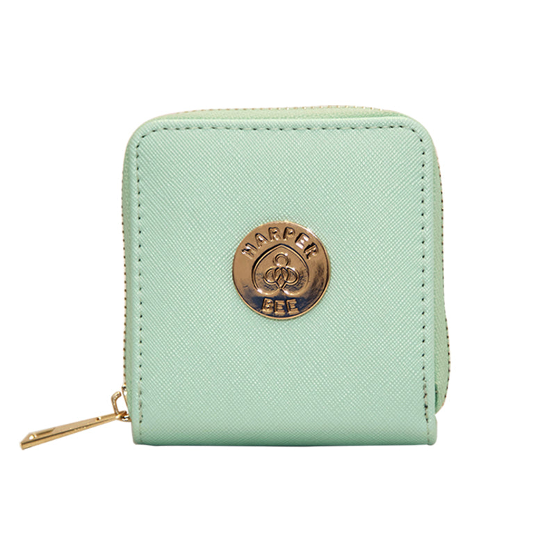 Harper Bee Wallet - Mint