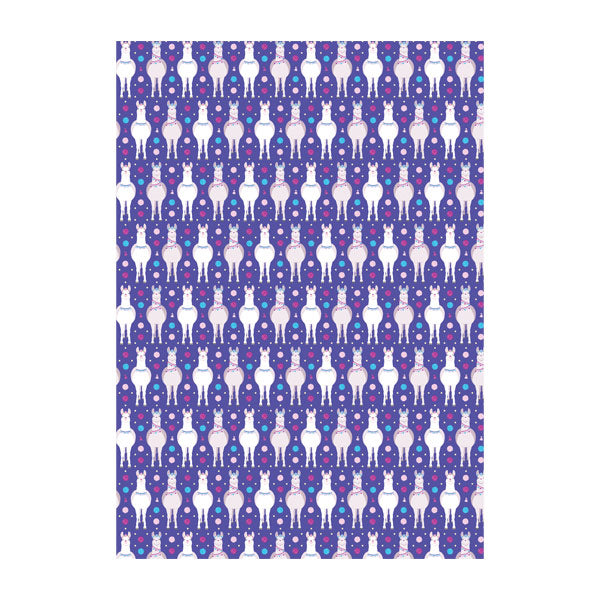 Wrapping Paper - Hbee Llama