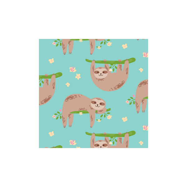 Wrapping Paper - Hbee Sloth