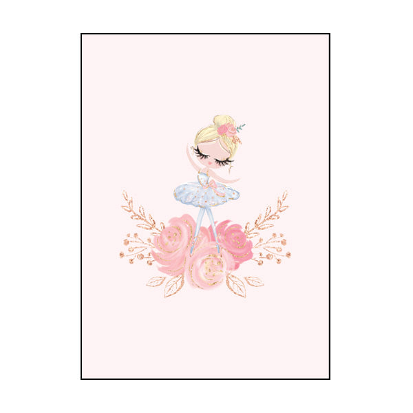 Exercise Book Cover - Pink Ballerina
