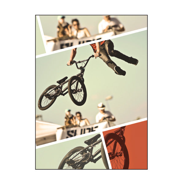 Exercise Book Cover - BMX