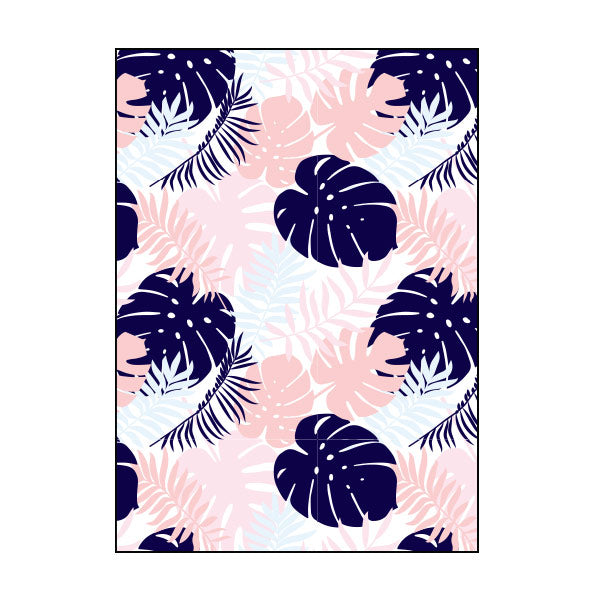 Exercise Book Cover - Botanical Bliss