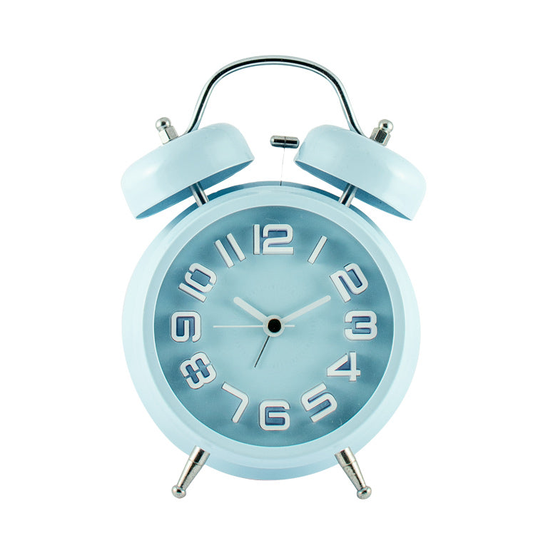 Harper Bee Clock - Ice Blue