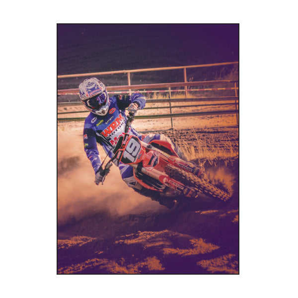 Exercise Book Cover - MOTOCROSS
