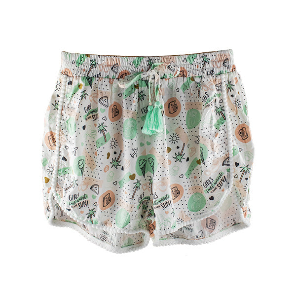 Harper Bee Shorts - Tropical Holiday