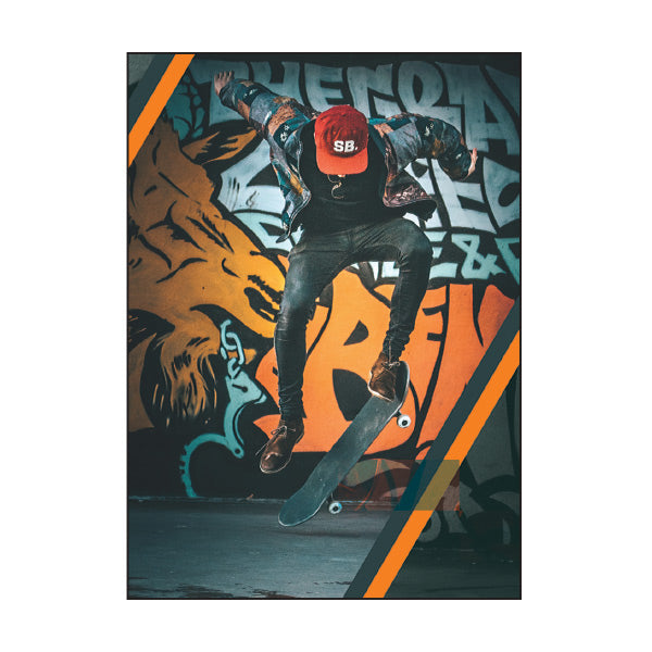 Book Cover A4 - Graffiti Skate