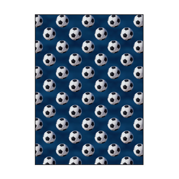 Exercise Book Cover - Soccer Star