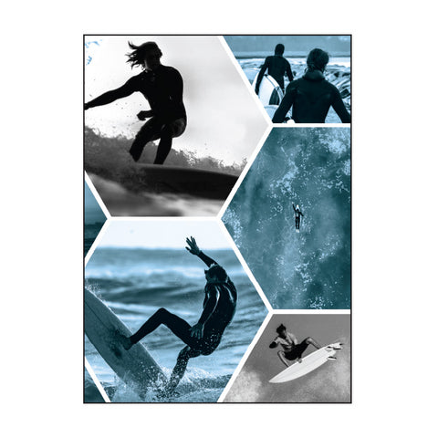 Scrap Book Cover - SURFER