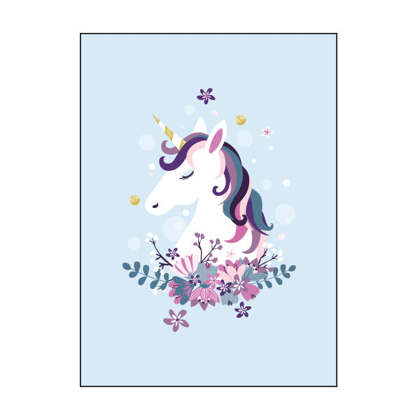 Exercise Book Cover - UNICORN