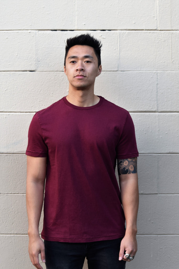 ADAN Tee in Currant