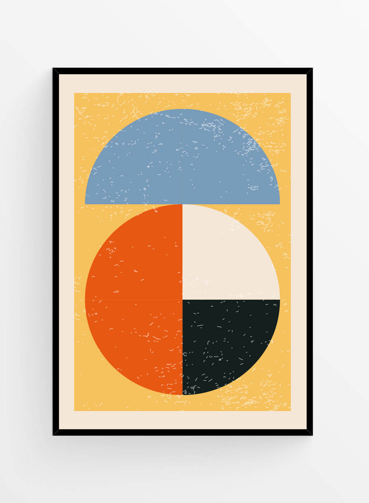 Geometric Abstract no2 | Poster