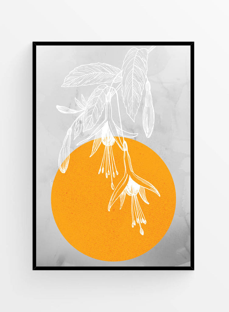 Growing towards the sun | Art print