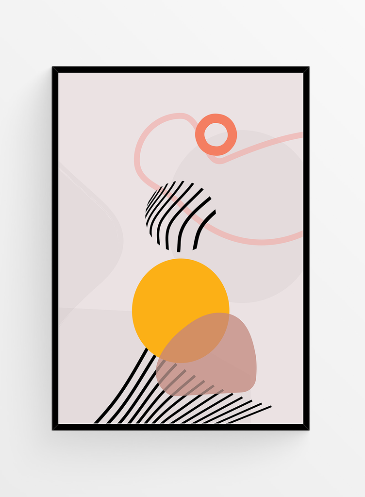 Geometric feeling | Art print