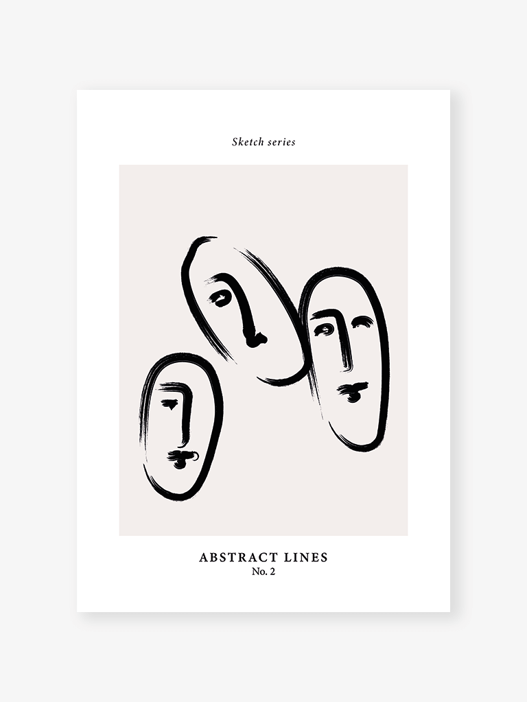 Sketch series 2 | Art Print