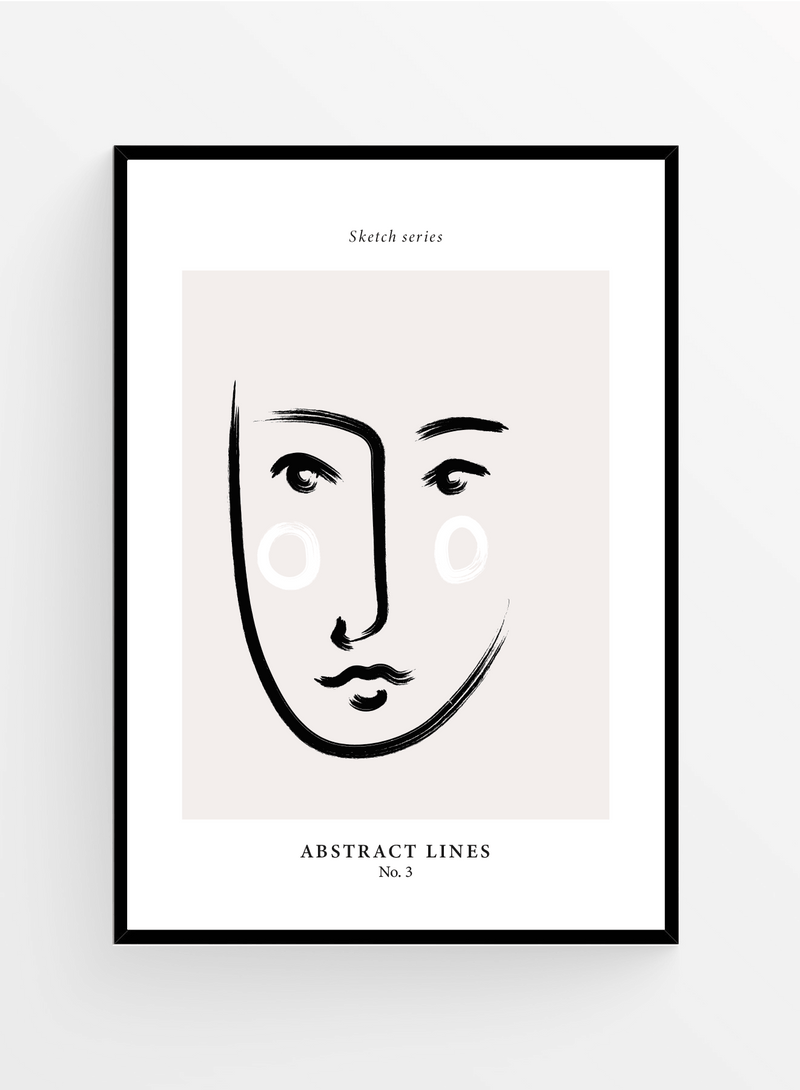 Sketch series 3 | Art Print