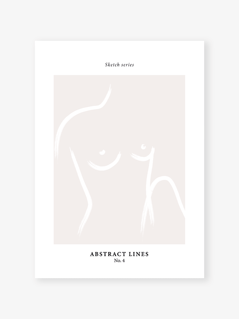 Sketch series 4 | Art Print