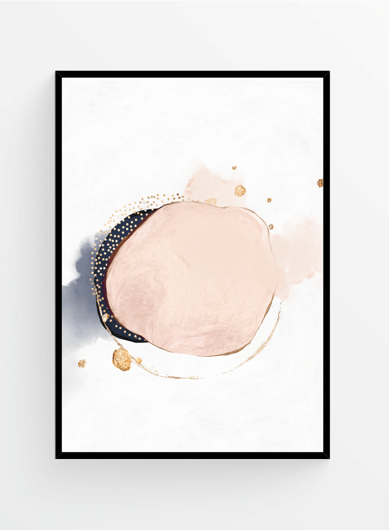 Abstract Watercolor 5 I Poster 40x50cm